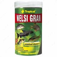 Сухой корм для аквариумных донных рыб в гранулах Welsi Gran TROPICAL