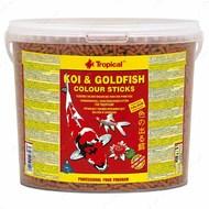 Сухой корм для прудовых рыб в палочках KOI & Gold COLOR TROPICAL