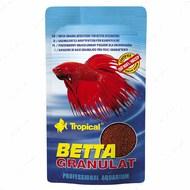 Сухой корм для петушков в гранулах Betta Granulat TROPICAL