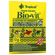 Сухой корм для аквариумных рыб в хлопьях Bio-vit TROPICAL
