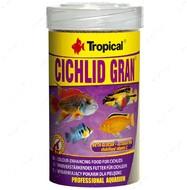 Сухой корм для цихлид в гранулах Cichlid Gran TROPICAL