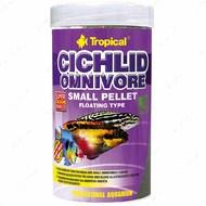 Сухой корм для цихлид в гранулах Cichlid Omnivore Small Pellet TROPICAL