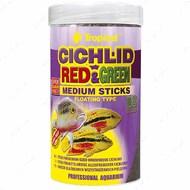 Сухой корм для цихлид в палочках Cichlid Red&Green Medium ST TROPICAL