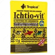 Сухой корм для всех видов аквариумных рыб в хлопьях Ichtio-vit TROPICAL