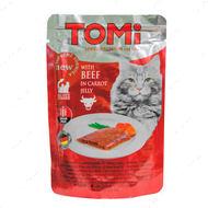 Консервы для кошек говядина в морковном желе TOMi beef in carrot jelly