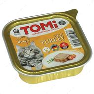 Консервы для кошек TOMi turkey
