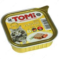 Консервы для кошек TOMi poultry liver