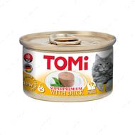 Консервы для кошек с мясом утки мусс TOMi Duck
