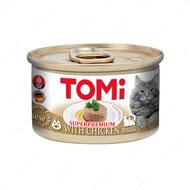 Консервы для котов с мясом курицы мусс TOMi Chicken