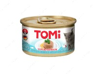 Консервы для котят с лососем TOMi For Kitten with Salmon