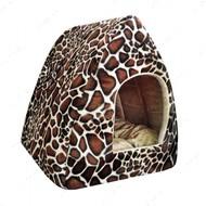 """Уютный меховой домик для собак и кошек """"Жирафчик"""""""