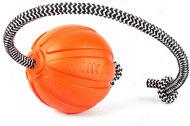 Мяч ЛАЙКЕР на шнуре - идеальная игрушка для поощрения и повышения игровой мотивации собак