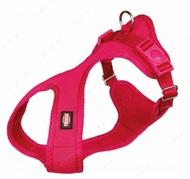 Нейлоновая шлея-майка для собак, фуксия Comfort Soft Touring Harness