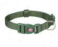 Ошейник для собак оливковый Premium Collar