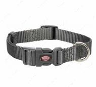 Ошейник для собак графитовый Premium Collar