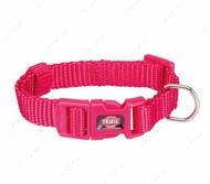 Ошейник для собак фуксия Premium Collar