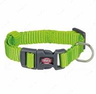 Ошейник для собак ярко-зеленый Premium Collar