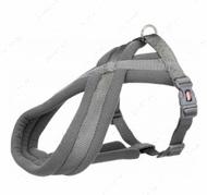 Шлея для собак нейлоновая графитовая Premium Touring Harness