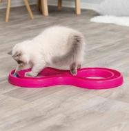 Игровой трек для котов змейка-восьмерка Trixie Flashing Ball Race