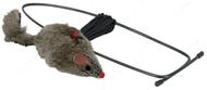 Игрушка для котов мышь с креплениями на дверной проем Trixie Mouse for Doorframes