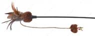 Дразнилка для кота палочка с бабочкой и мячиком Trixie Playing Rod