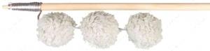 Дразнилка для кота палочка с тремя плюшевыми мячиками Trixie Playing Rod with 3 Plush Balls