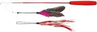 Дразнилка для кота палочка телескоп с 2-я сменными игрушками Trixie Telescope Playing Rod
