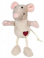 Игрушка для кота плюшевая мышка Trixie Plush Mouse