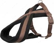 Шлея для собак нейлоновая мокко Premium Touring Harness