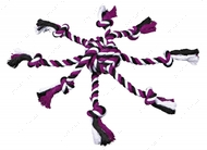 Мяч-канат с веревками Trixie Rope Toy with Woven-in Ball