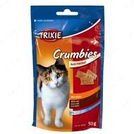 Витамины для кошек для выведения комочков шерсти Crumbies with Malt