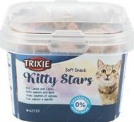 Витамины для кошек с лососем и ягненком Soft Snack Kitty Stars