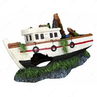 Декоративная для аквариумов затонувшая лодка Boat Wreck