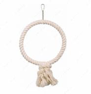 Игрушка-качеля для мелких и средних птиц Rope Ring