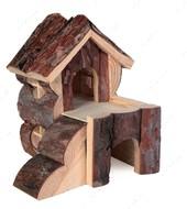 Деревянный дом для грызуна Bjork House
