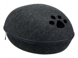 Домик-лежак для кошек и собак грязеотталкивающий Liva Cuddly Cave