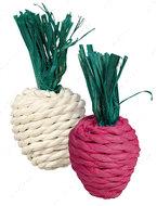 Игрушка для грызунов редиска Set of Straw Toys