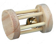 Игрушка-валик для грызунов со звонком Playing Roll