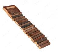Деревянная лестница для грызунов Ladder with Food Bowl