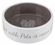 Миска керамическая для кошек и собак Pet's Home Ceramic Bowl