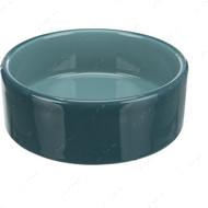 Миска керамическая для кошек и собак бирюза Ceramic Bowl