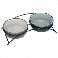 Миска керамическая для кошек и собак Eat on Feet Bowl Set