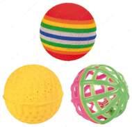Игрушка для кошки набор мячиков Set of Toy Balls