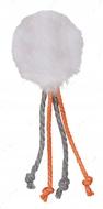 Игрушка для кошки мячик с пером Assortment Plush Balls with Strings