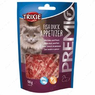 Лакомства для котов с уткой и рыбой PREMIO Fish Duck Appetizer