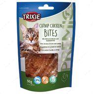 Лакомства для котов c курицей и кошачьей мятой PREMIO Catnip Chicken Bites