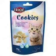 Лакомства для котов печенье с лососем и мятой Cookies
