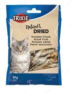 Лакомства для котов рыбка сушеная Dried Fish
