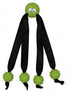 Игрушка для собак мяч литой с канатами Ball with Strap Legs