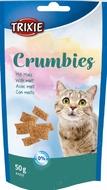 Лакомство подушечки для котов выведении шерсти Crumbies